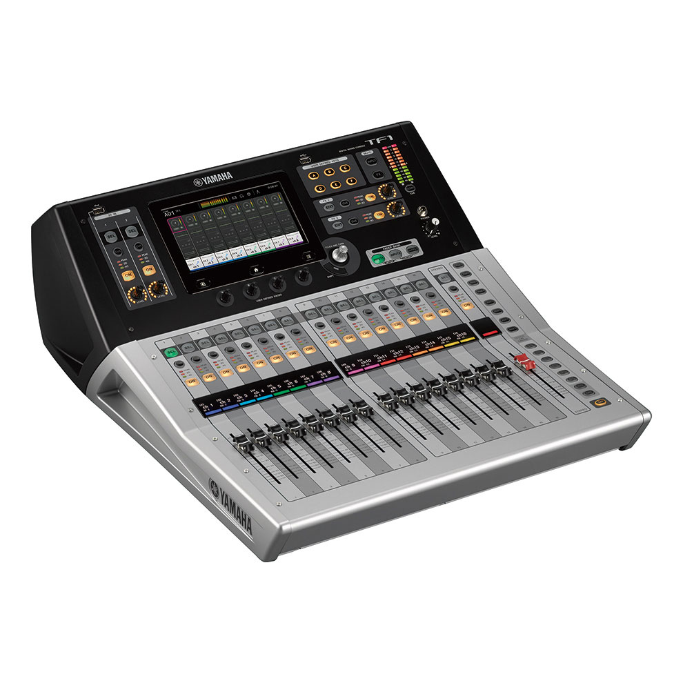 17 motor faders (16 channels + 1 master)     40 input mixing channels (32 mono + 2 stereo + 2 return)     20 Aux buses (8 mono + 6 stereo) + Stereo + Sub     8 DCA groups with Roll-out     16 analog XLR/TRS combo mic/line inputs + 2 analog RCA pin stereo line inputs     16 analog XLR outputs     34 x 34 digital record/playback channels via USB 2.0 + 2 x 2 via a USB storage device     1 expansion slot for NY64-D audio interface card